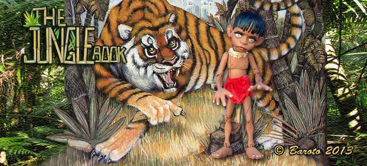 Jungle Book Cover Art : The jungle book puppet heads